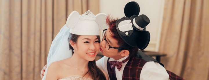 Tying the Knot for Gerald and Zhi Xin