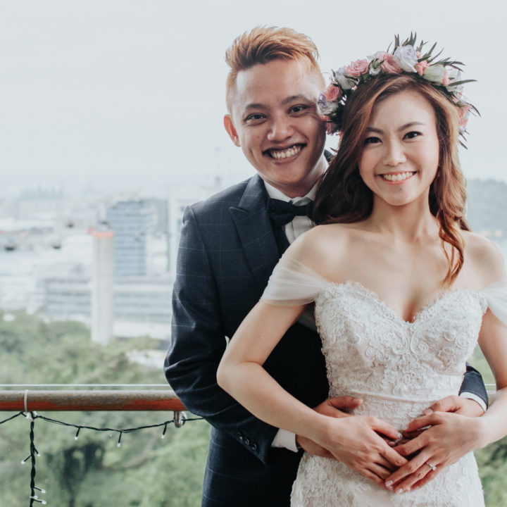 Tying the Knot for Jee Khen & Chloe